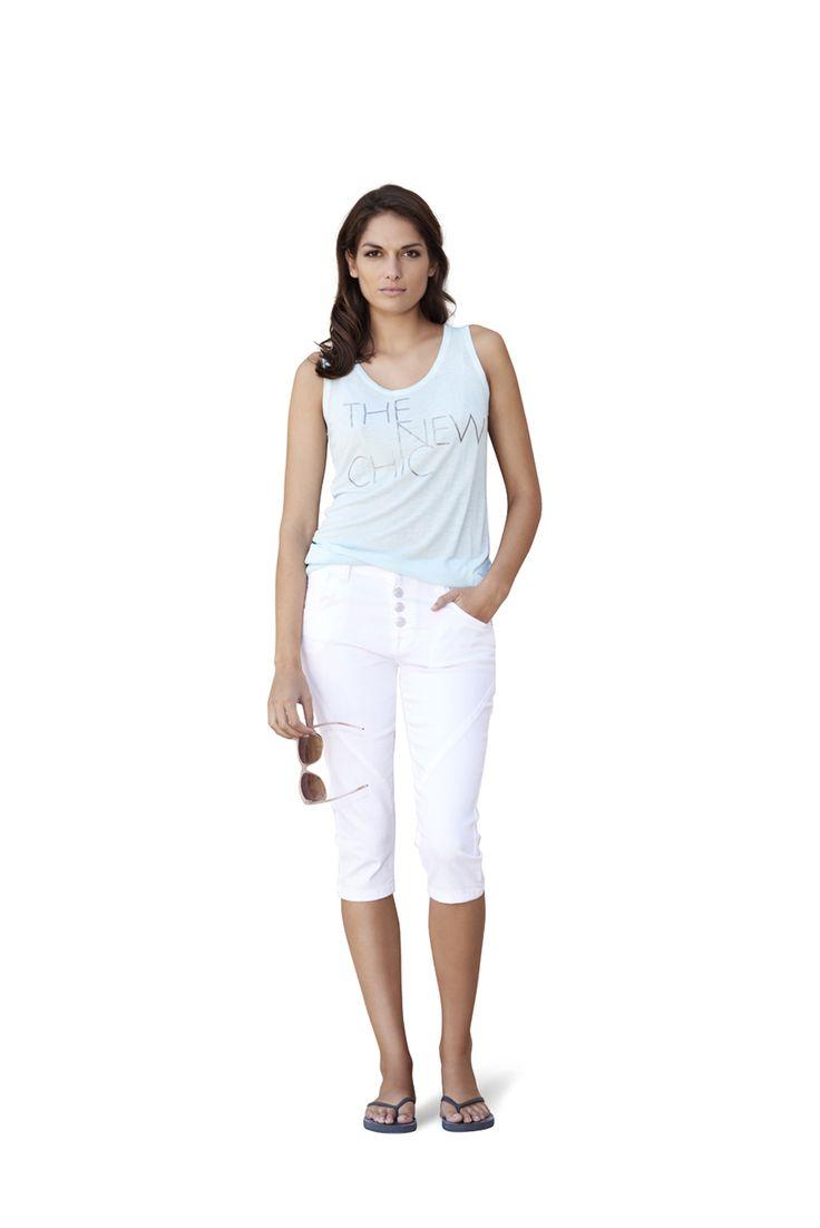 soyaconcept - top - blouse - t-shirt pants - jeans - sunglasses
