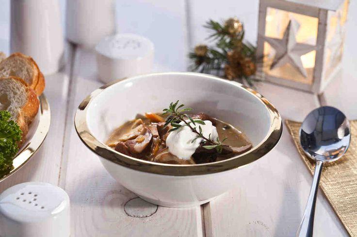 Zupa grzybowa #smacznastrona #przepisytesco #zupagrzybowa #święta #wigilia