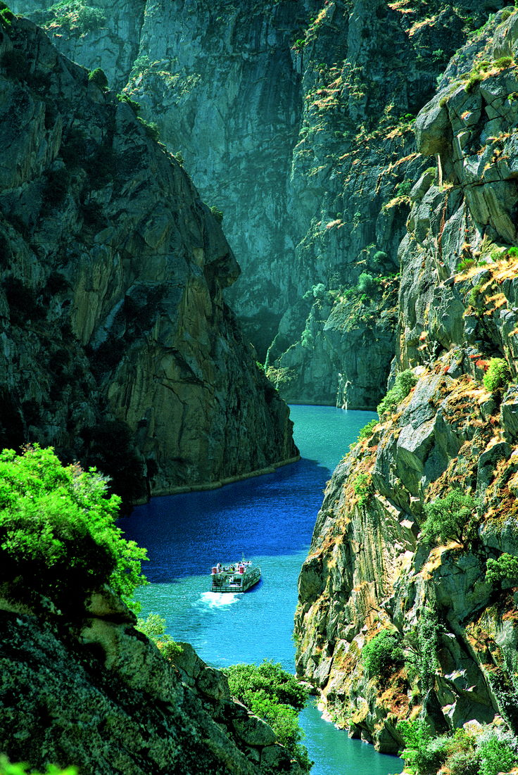 Portugal:Canyon - Somewhere in the Asterial Empire-Douro river