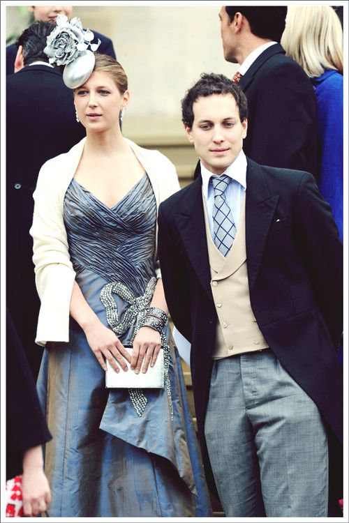 Lady Gabriella and Lord Frederick Windsor, children of Prince Michael of Kent (first cousin of Queen Elizabeth).