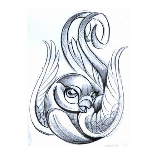 Bird Symbol Tattoo Designs | Download Gallery Symbols Bird5 Tattoo Free Download Design 1 Design ...
