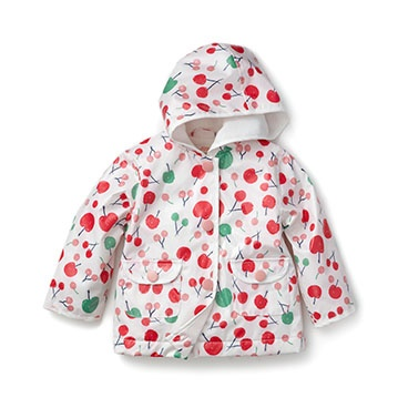 this is the cutest raincoat ever... and there's matching boots!!!