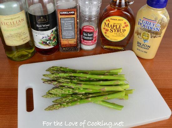Maple Dijon Asparagus | Food, food, glorious food! | Pinterest