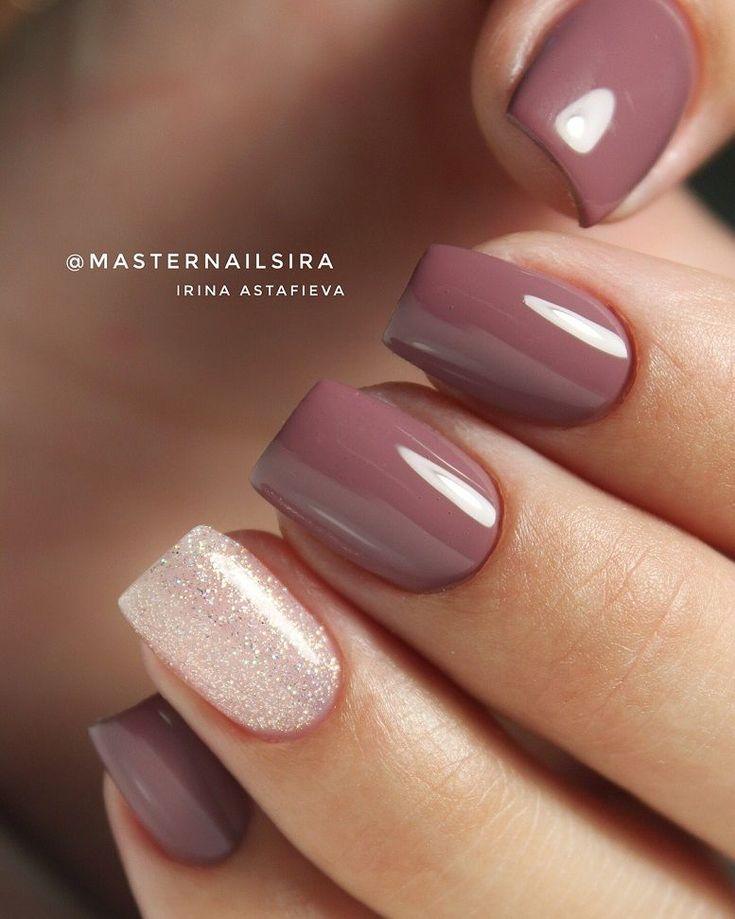 59 Beautiful Nail Art Design To Try This Season - long coffin nails , glitter na...