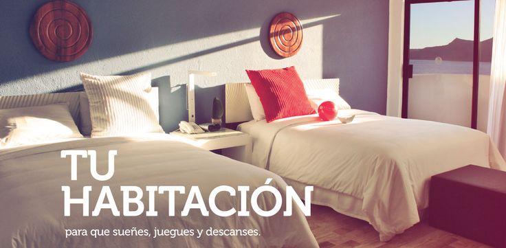 Ramada Mazatlán... tu habitación, para que sueñes, juegues y descanses.
