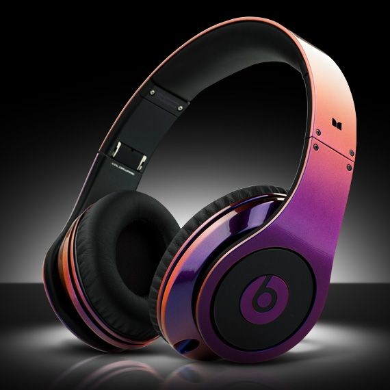 "Beats By Dr. Dre x ColorWare ""Illusion Beats Studios Headphone"" - my daughter's favo"
