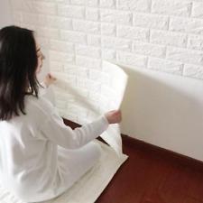 Home Bathroom Kitchen 3D Brick Wall Decor Stickers Wallpaper Tile Art Backsplash