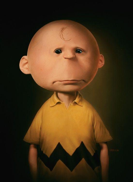 Charlie Brown un-tooned
