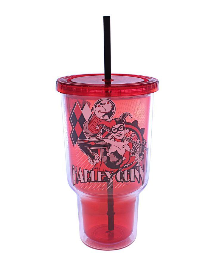 Harley Quinn 32Oz. Jumbo Travel Tumbler Cold cup