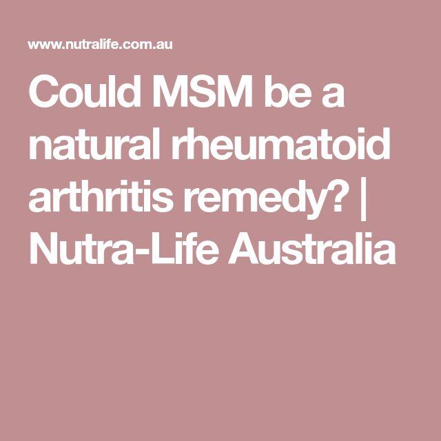 Natural Remedies For Rheumatoid Arthritis Australia