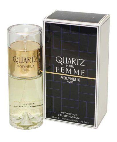 Quartz - Eau De Parfum Vaporisateur 3.3 Oz. (100 Ml) - Pour Femme
