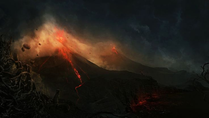 Volcano wallpaper Photography wallpapers