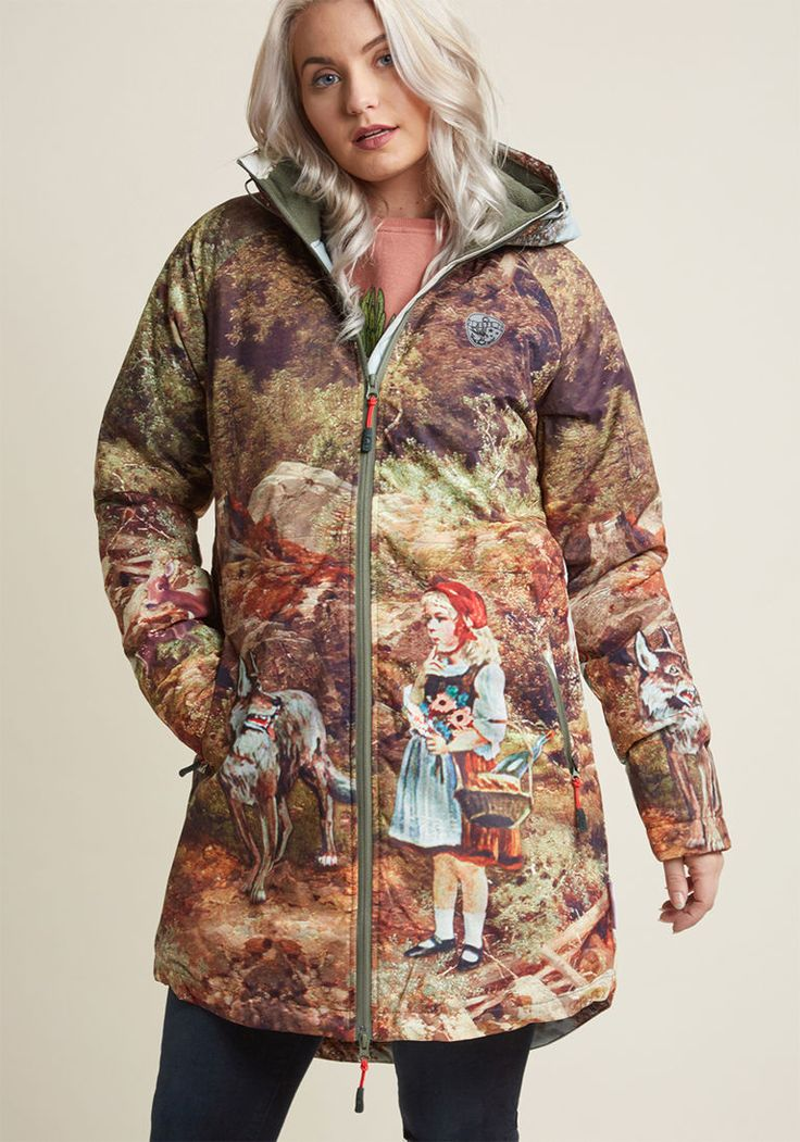 Blutsgeschwister Outdoor Imagination Water-Resistant Coat in M - Parka Coat by Blutsgeschwister from ModCloth