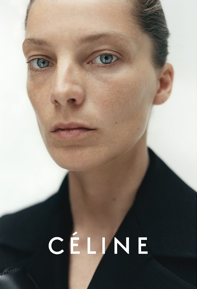 Daria Werbowy Best Beauty Looks in Celine Campaigns - Style.com