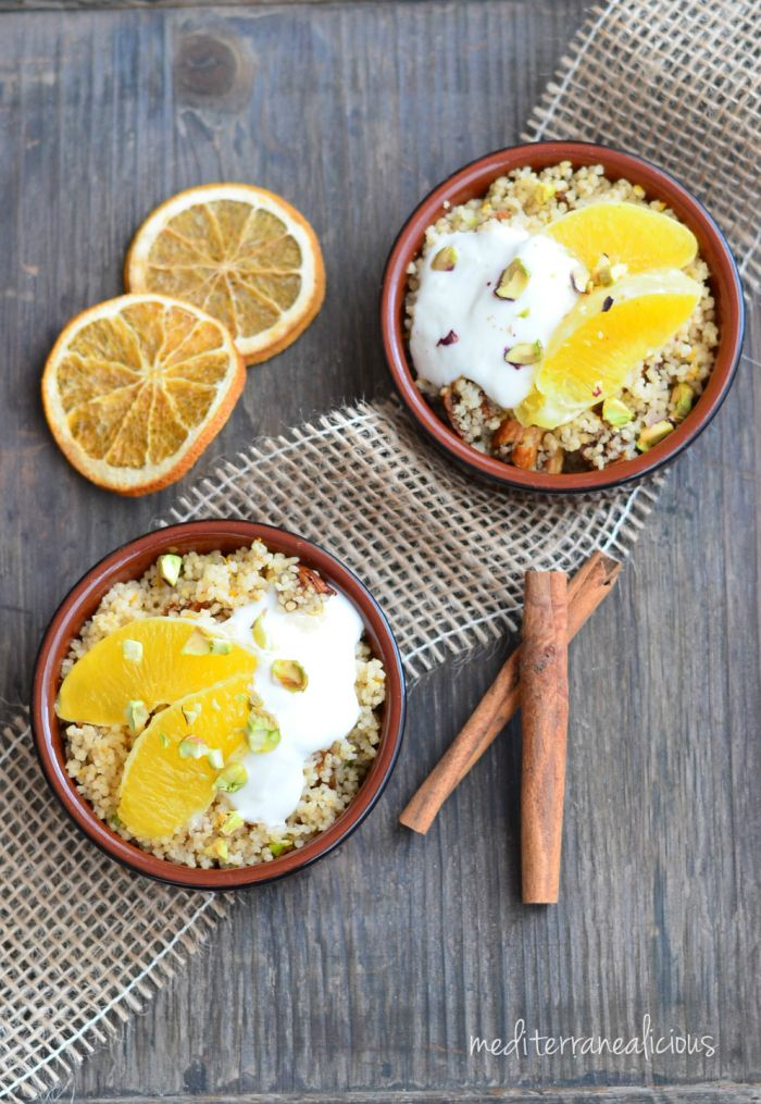 Rose Water Scented Couscous With Oranges And Pistachios #couscous #salad #boursin #inspiration