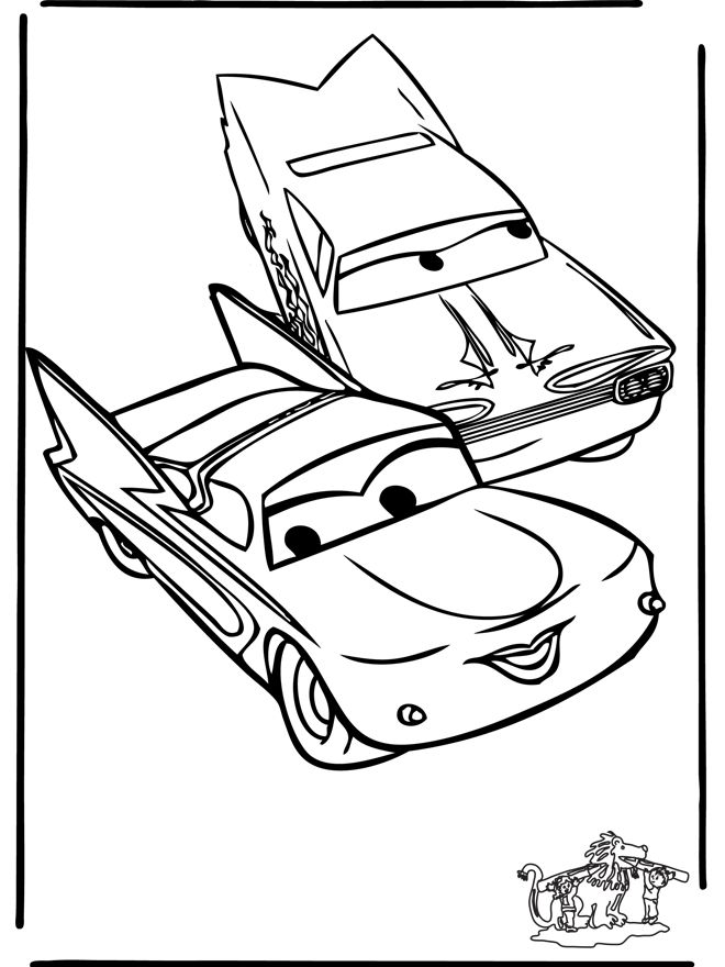 ramone cars coloring pages - photo#22