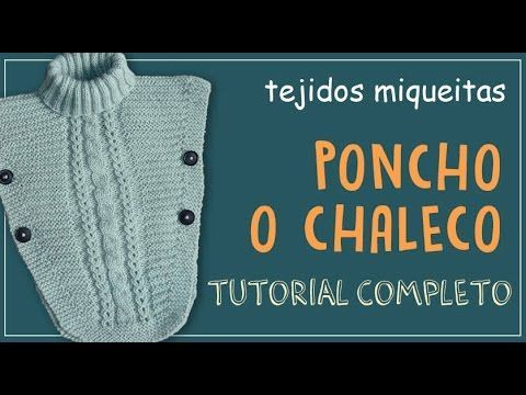 TUTO PONCHO AU CROCHET POINT ETOILE TOUTES TAILLES all sizes poncho knitted crochet - YouTube