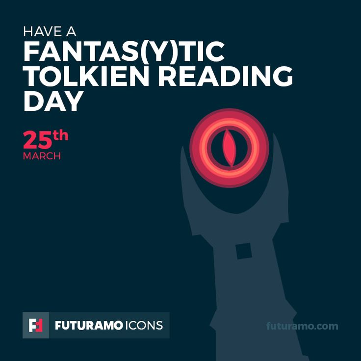 Have a fantas(y)tic Tolkien Reading Day! Check out our FUTURAMO ICONS – a perfect tool for designers & developers on futuramo.com