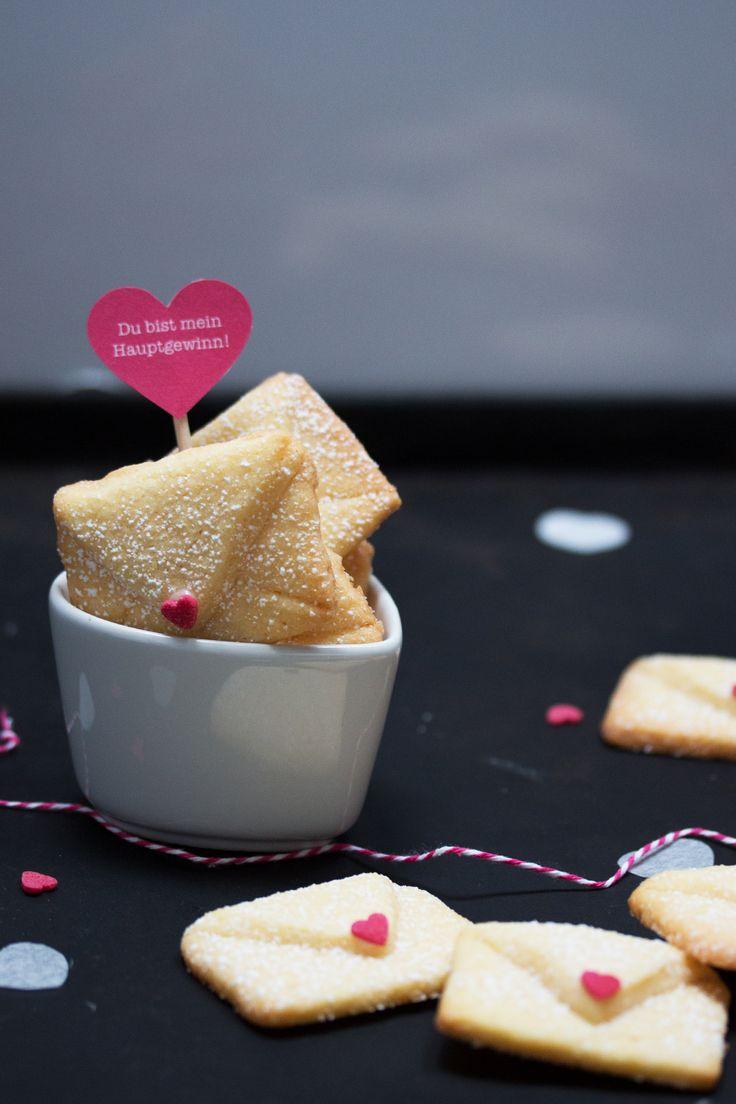 Liebesbrief-Kekse