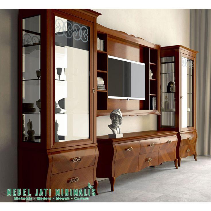 Find This Pin And More On Bufet Tv Lemari Hias Ruang Tamu Minimalis Mewah By Imebeljatiminimalis