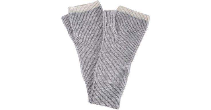 Image result for light grey fingerless gloves