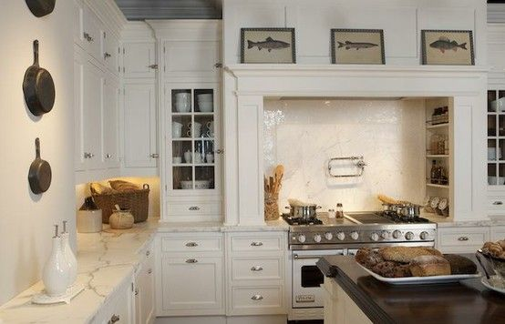 Dreaming of a white kitchen the glam pad
