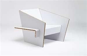 cardboard furniture, chairDesign D Objet, Cardboard Furniture, Furnituree Showroom Finland, Cardboard Paper, Design Cardboard, Cardboard Diy, Cartons, Cardboard Chairs, Cardboard Design