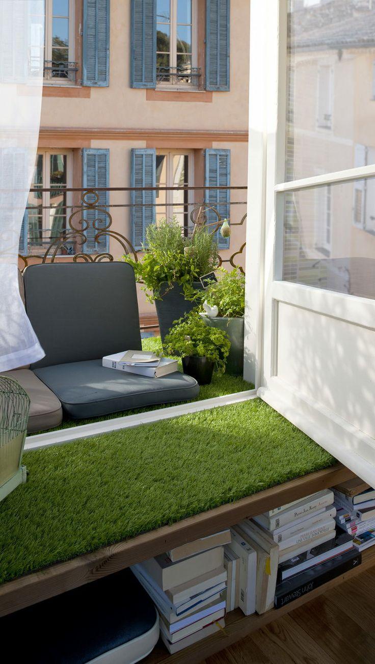 Les 25 meilleures id es concernant gazon artificiel sur pinterest fausse he - Fausse pelouse interieur ...
