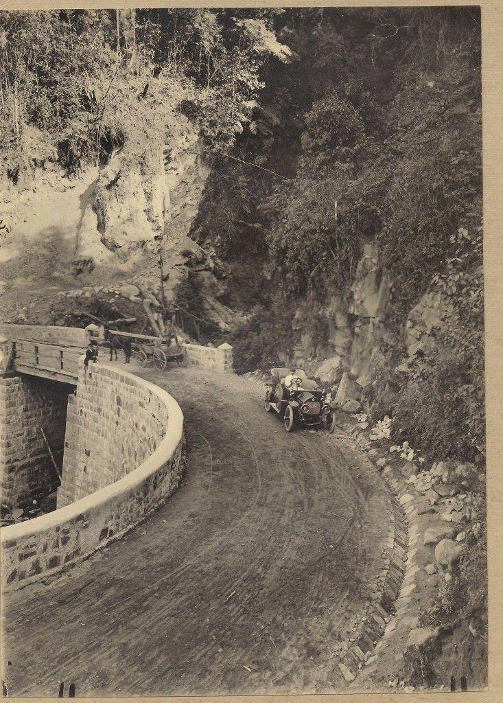 A Estrada Da Graciosa Em 1916 Foto De Arthur Wischral Fonte Blog