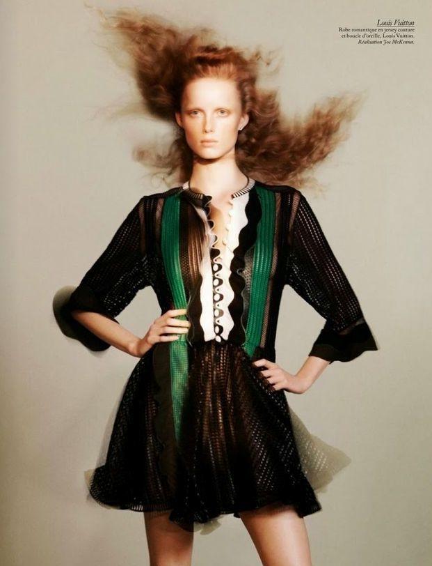 "Vogue Paris Fevereiro 2015   ""Studio Vogue"" by David Sims - Louis Vuitton"