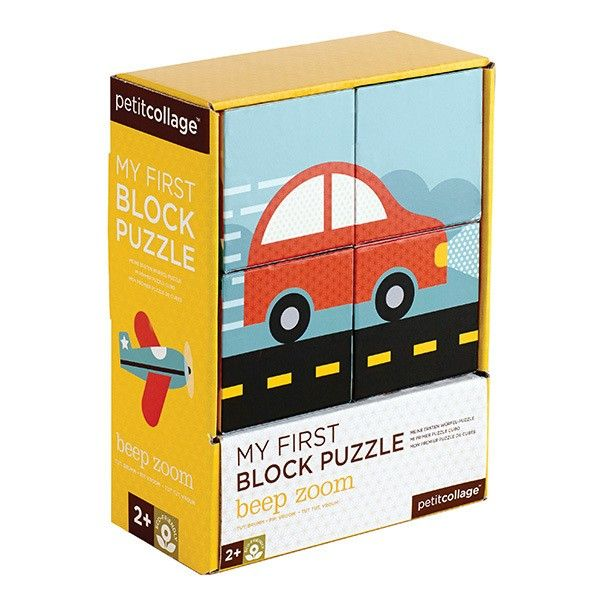 Petit Collage - Block Puzzle Vehicles because Daddy loves cars and he would love to play with these blocks (and our little son ;)) #pintowin #entropywishlist