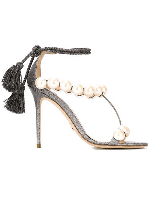 Shop Paula Cademartori 'Diana' sandals in Eraldo from the world's best independent boutiques at farfetch.com. Shop 300 boutiques at one address.