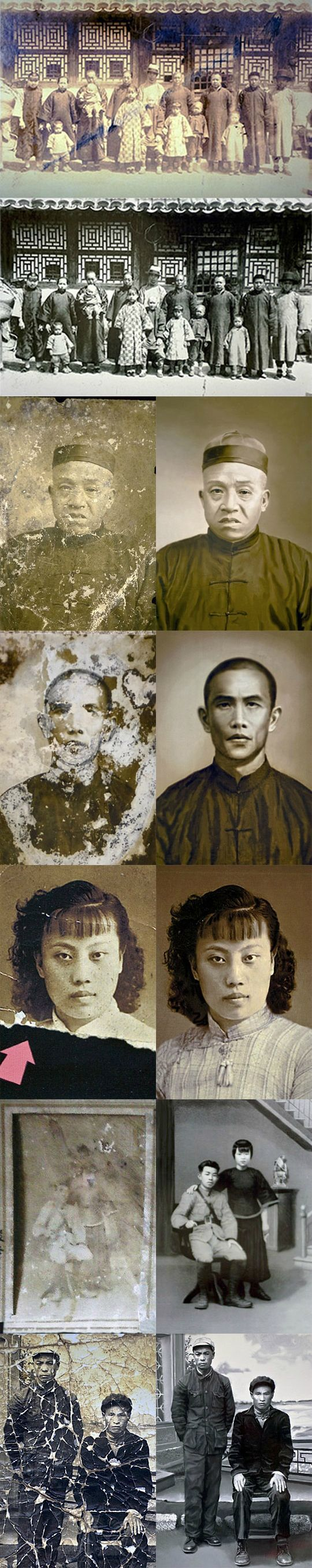76-year-old Photoshop Master in China Restores Old Photos for Free - Imgur