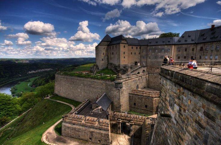 Königstein - саксонаская бастилия