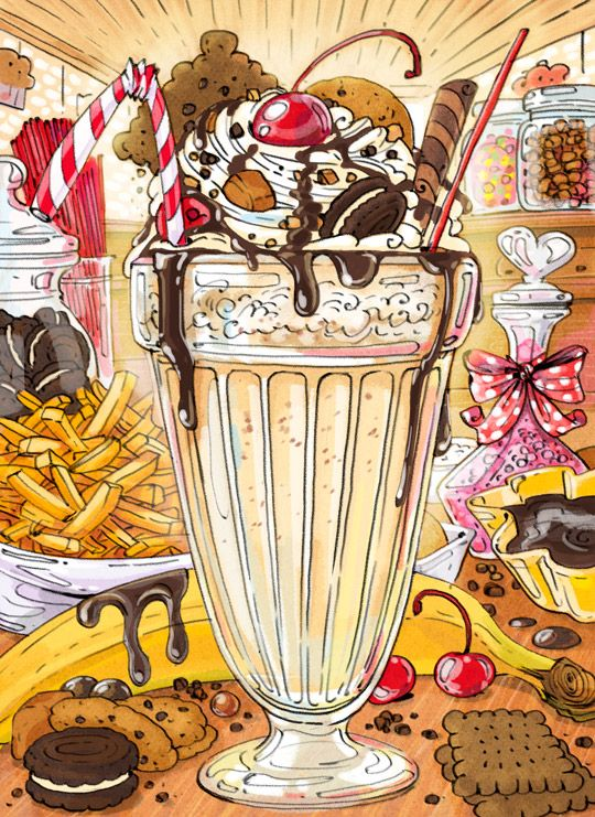 Cartoon Cooking: Esos locos batidos