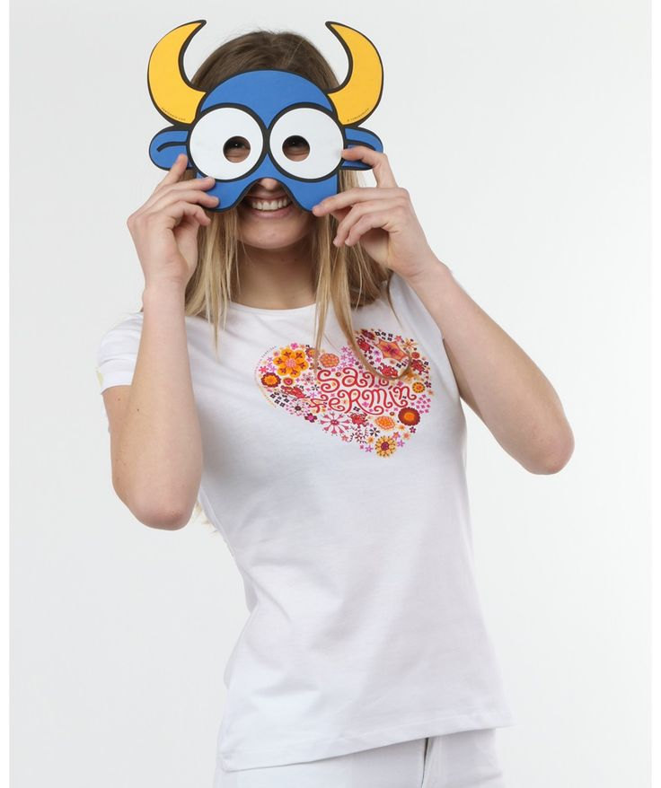 Camiseta chula mujer Corflor - kukuxumusu