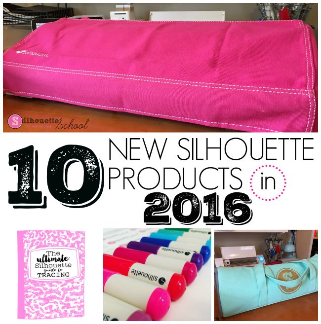 new silhouette products 2016, new silhouette cameo, silhouette cameo 3