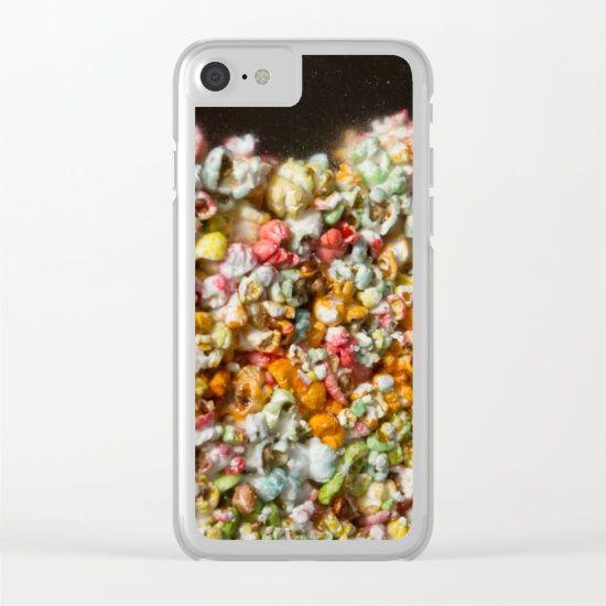 Popcorn Clear iPhone Case