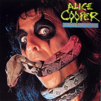 """L'album di #AliceCooper intitolato """"Constrictor""""."""