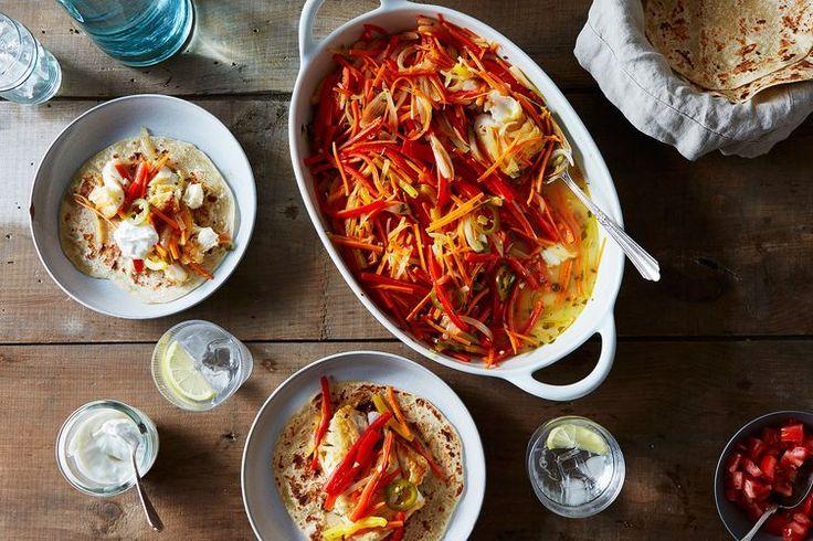 White Fish Escabeche Tacos recipe on Food52
