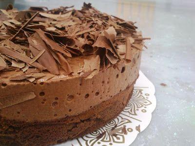 Anne au Chocolat gjorde det, Ganeoggaffel gjorde det, så nu må jeg også! Her mener jeg den søde, smukke gudekage af chokolade: Gâteau Mar...