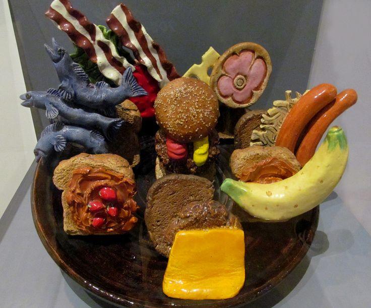 Sandwich Platter by David Gilhooly