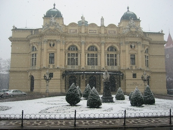 Krakow Library, Poland