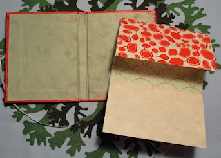 Inside view of Japanese Case Book
