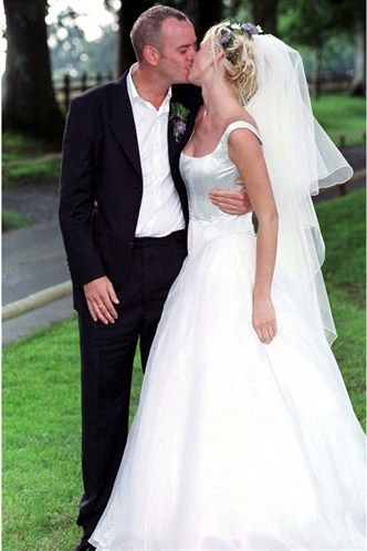 Celebrity Wedding Dresses Zoe Ball