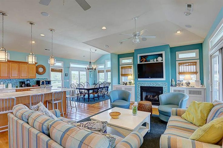 BEACH VACATION RENTAL HOME: Latitude Adjustment, a 6 bedroom vacation rental on the Outer Banks, NC. Primed and ready for your beach escape!
