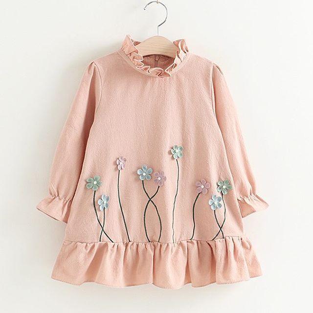 Rising flower dress