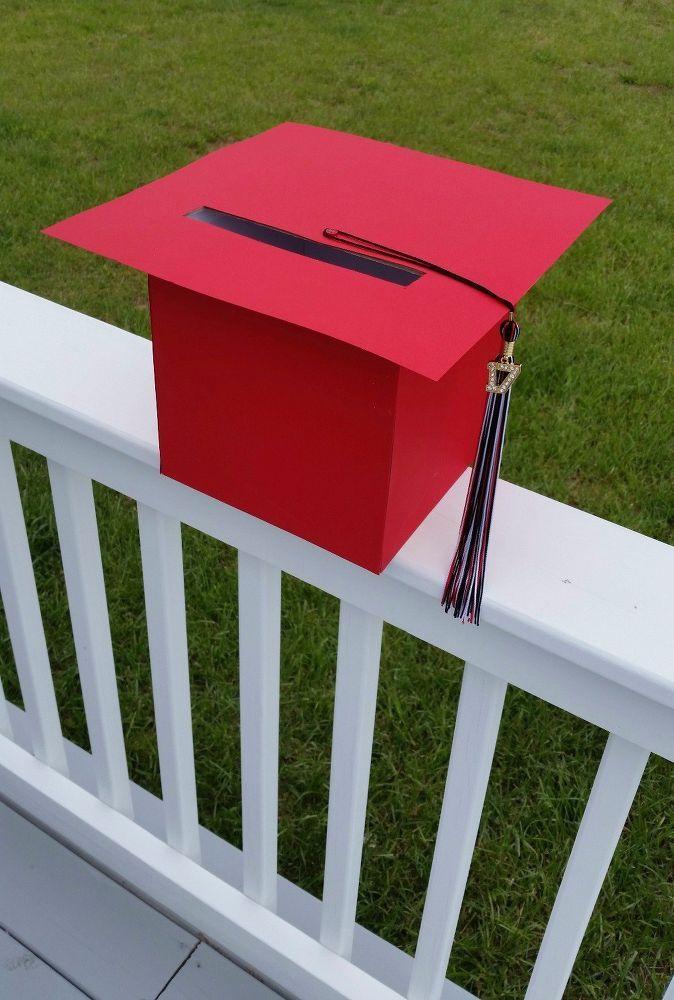 graduation cap card holder box  graduation party high