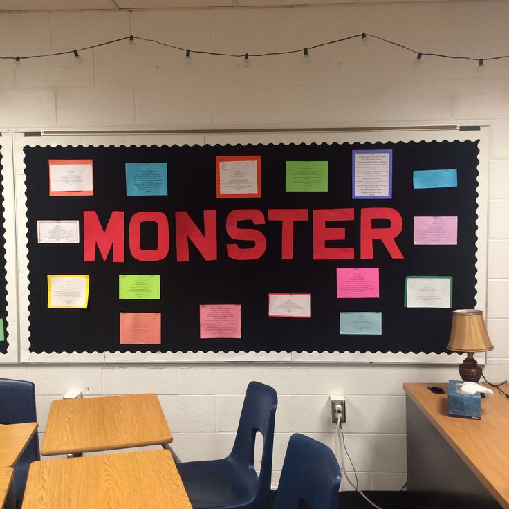 25 best walter dean myers monster images on Pinterest Teaching - monster sample resume