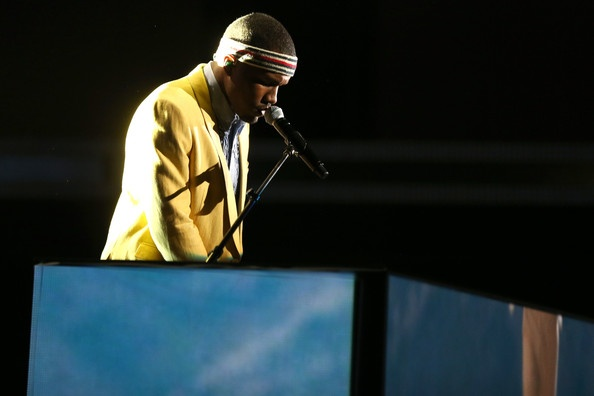 My highlight of this year's Grammy Awards: the performance of Forrest Gump by the multi-talented Frank Ocean. He deserves a lot more credit for his music, which i find to be more than just music. The way he uses words is something only a few, if not no one, can do.